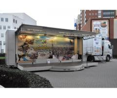 Mobile Road show stage outdoor  Truck 2019