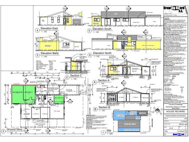 Architectural plans / Building plans / council plans - 1/4