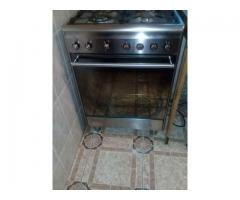 Smeg gas stove with electric oven