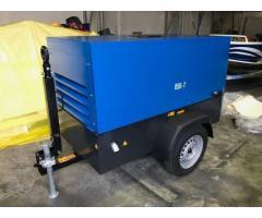 New Kubota 180 cfm kubota diesel air compressors