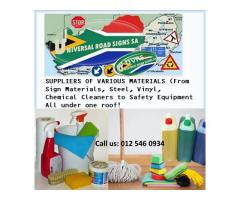 Home and Industrial Cleaning Materials