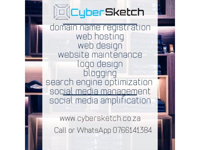 Web Design - CyberSketch Web Services - 1/3