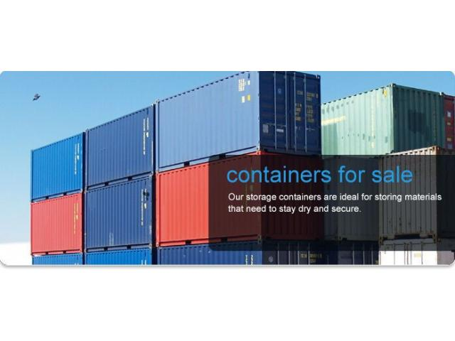 40' and 20' Shipping and Storage Containers On Sale - 1/1
