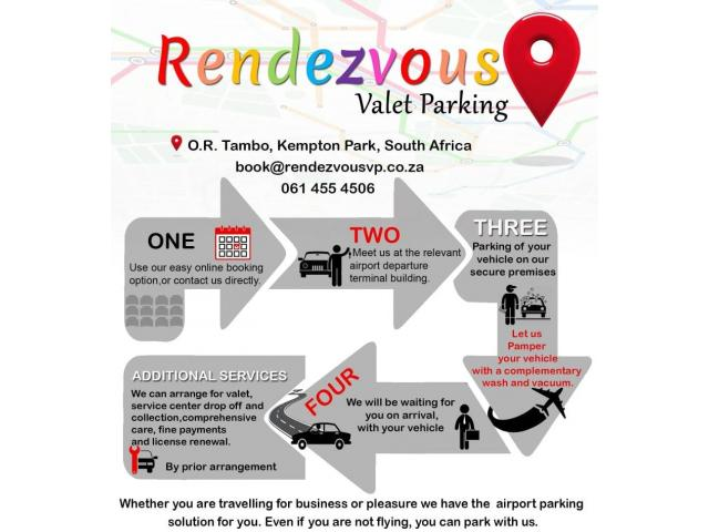 Airport Parking OR Tambo - Rendezvous Valet Parking - 2/3