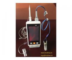 Handheld ETCO2+SPO2 monitor