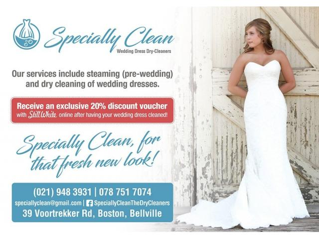 Wedding dress cleaning specialists.. - 1/4