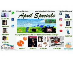 Needsbay : April Specials