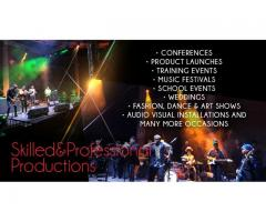 Audio, Visual and Stage Equipment and Services