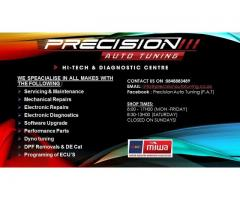 Precision Auto Tuning - Automotive repairs and services