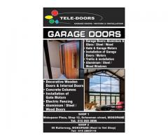 Garage Doors Motors and Installation