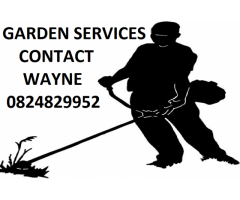 Garden services - supervised team at all times - EL
