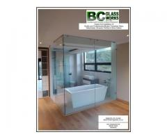 Frameless Glass Balustrades, Showers, Partition, Wine Cellar and Mirrors