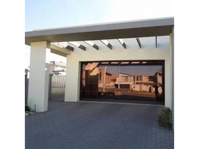 Aluminium glass garage doors and gates - 1/4