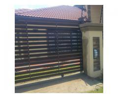 Aluminium glass garage doors and gates