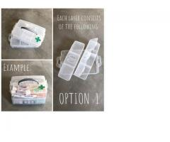 All-in-One Medication Case (Option 1)