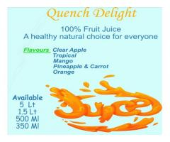 Fruit Juices & Ice Lollies