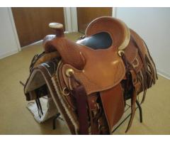 Experience Leather Western Saddle and Outback Riding Coat
