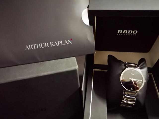 RADO  BRAND NEW WATCH - 4/4