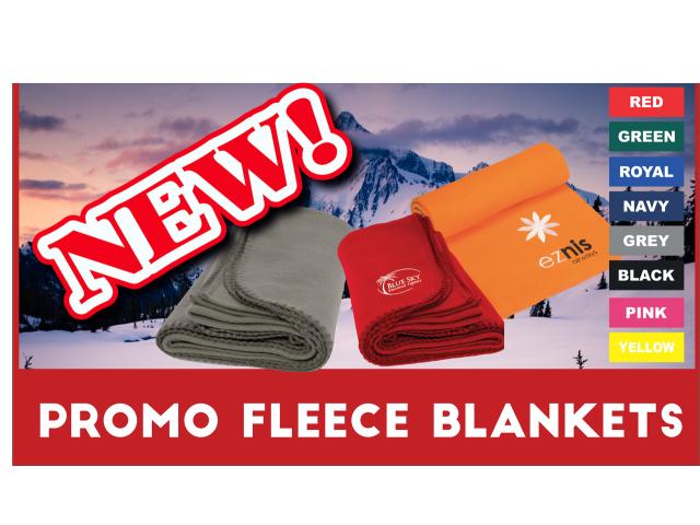 Promo Fleece Blankets - 1/4