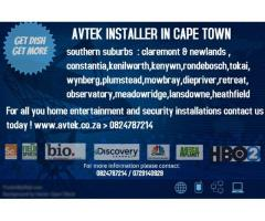 cctv dstv installer in cape town proffesional installation