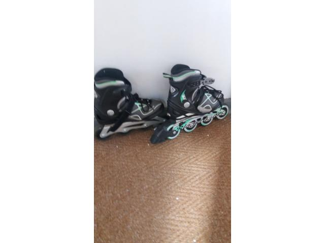 Rollerblades size 5 Good condition - 1/2