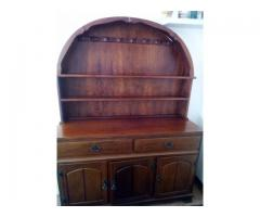 Antique Solid Imbuia Sideboard for Sale