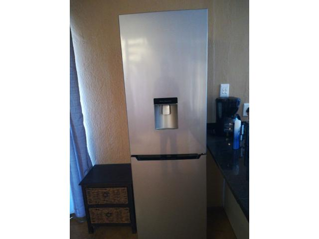 Hisense fridge freezer with water dispenser