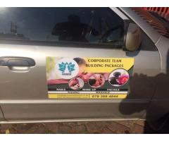 Car Magnet Specials!!!!!!!!(Free Design)