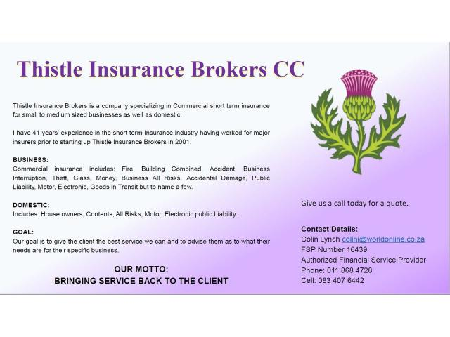 Thistle Insurance Brokers - 1/1