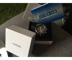 SEIKO Sportura FC Barcelona Chronograph For Sale
