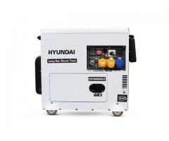 Hyundai DHY8000SELR 6kW Silenced Long Run Diesel Generator for Sale