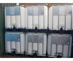 IBC Water Tanks 1000 Litre Liquid Storage Containers