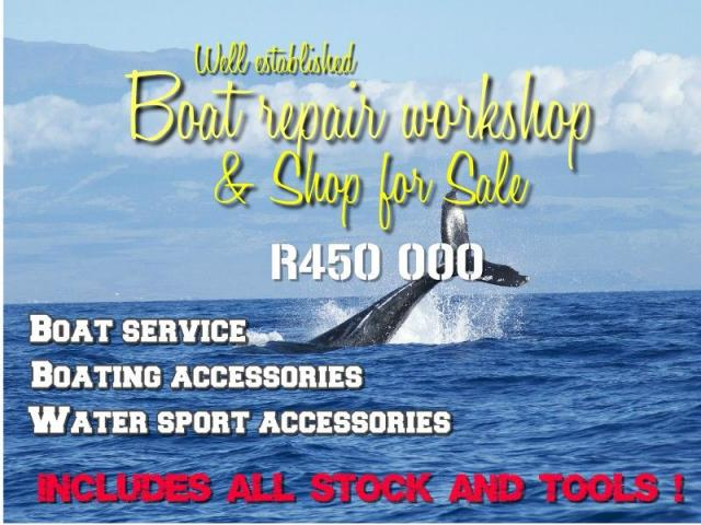 Boat workshop and accessories shop for sale - 1/1