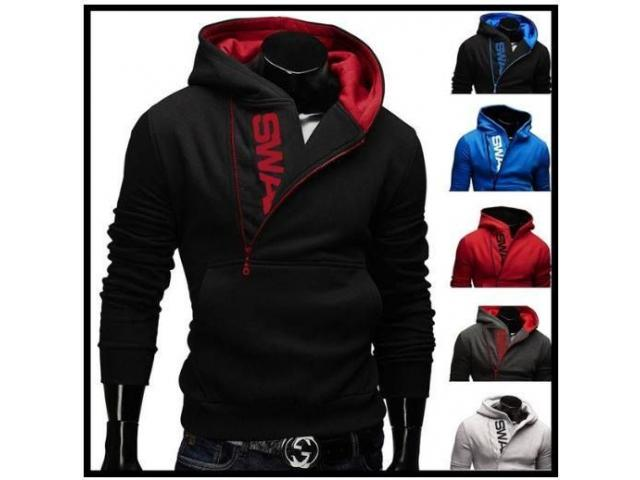Quality Cotton US Size XS-5XL Autumn Winter Fashion Sport Brand Fleece Hoodies Men/Women - 1/4