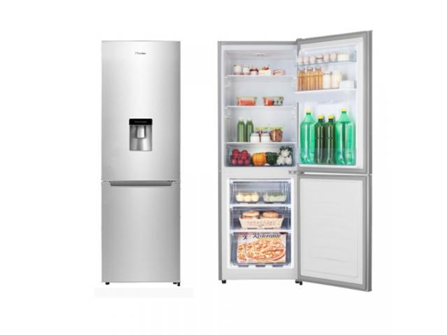 Sealed HISENSE 299l Combi Fridge Freezer with water dispenser