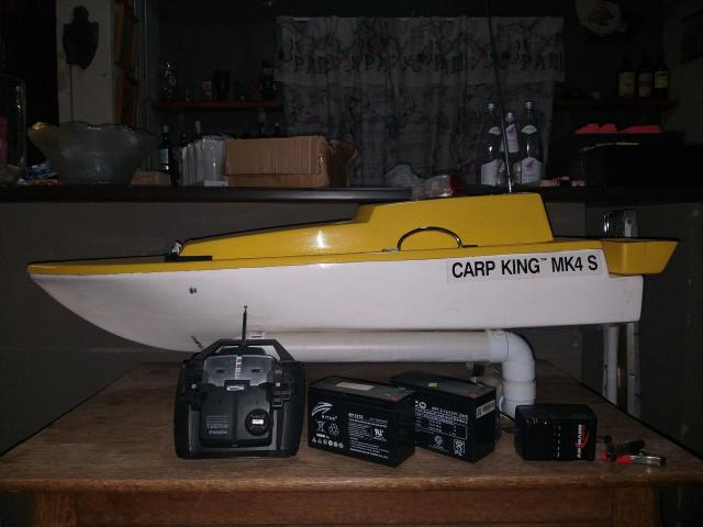 Karp King MK4s bait boat for sale - 1/4