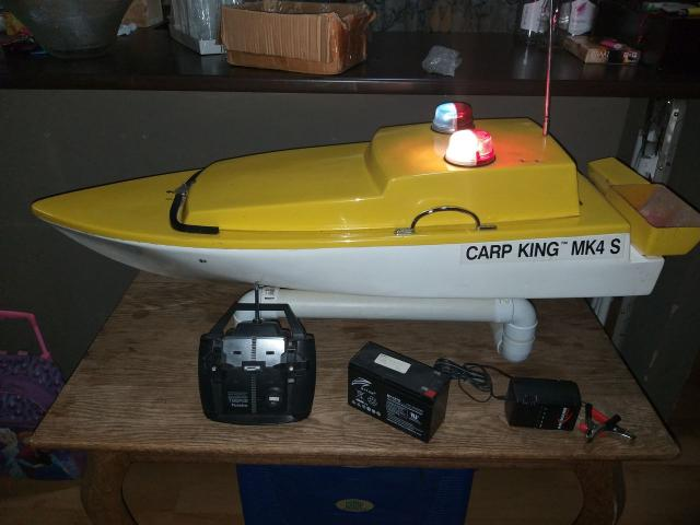 Karp King MK4s bait boat for sale - 4/4