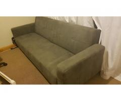 Sleeper Couch (Charcoal Grey) for Sale