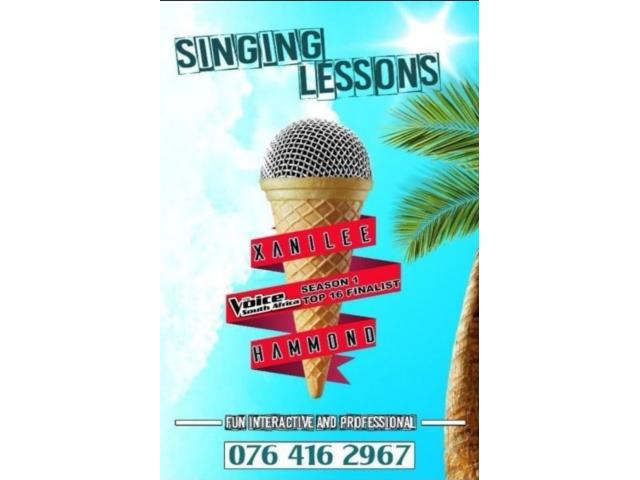 Private Singing Lessons - 1/1