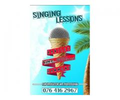 Private Singing Lessons