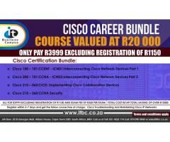 IT Business Campus - 80% Subsidized Cisco Course Career Bundle Available Now!