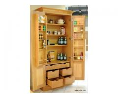 Fitted kitchen cupboards and accessories