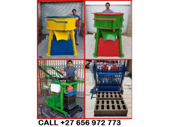 M140 and M150 Block Making Machines for sale - 1/2