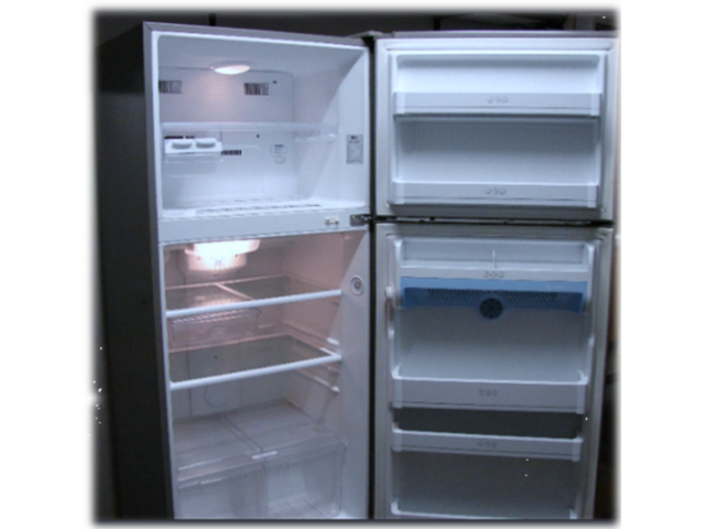 LG Metallic Fridge Freezer - 2/2