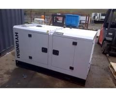 Hyundai DHY22KSE 1500rpm 22kVA Three Phase Diesel Generator