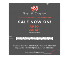 Bags and Baggage - Sale now on!