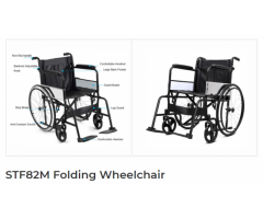 STF82M Folding Wheelchair | Montel Medical Suppliers