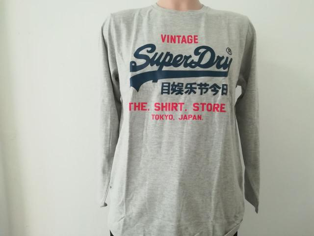 Mens Superdry Long Sleeve Shirts - 3/4