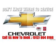 We will look after your CHEVROLET Chevy Vehicles
