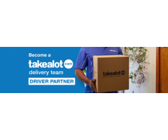 Become a Takealot Driver Partner
